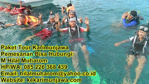 private paket tour karimunjawa